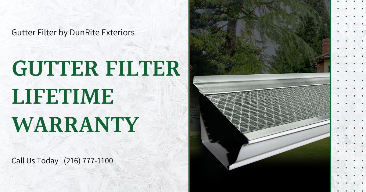 Leaf filled gutters before adding Gutter Filter